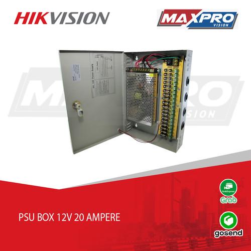 Foto Produk POWER SUPPLY 12V 20A + BOX dari Maxpro Vision