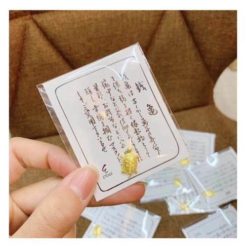 Foto Produk Kura kura pembawa keberuntungan rezeki kura kura legenda asakusa EMAS dari Shi Fu Importir