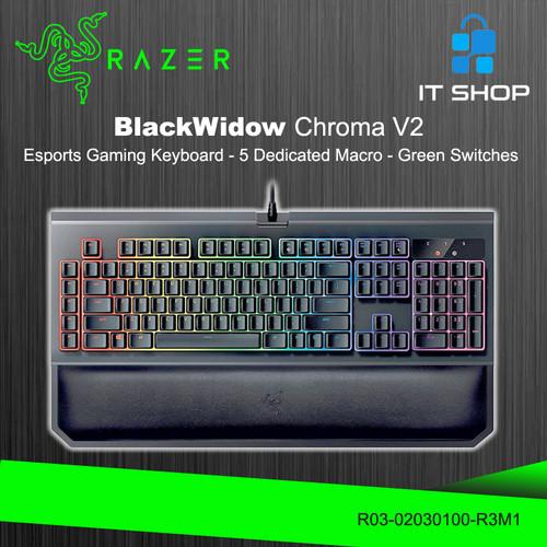 Foto Produk Razer Keyboard BlackWidow V2 - Green Switch dari IT-SHOP-ONLINE