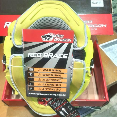 Foto Produk Neck brace RED DRAGON pelindung leher - Kuning dari BANZHAGUI