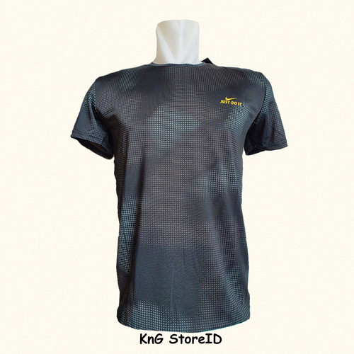 Foto Produk Kaos Dry Fit/ Climacool Nike -Biru/Hitam- Satu Ukuran - Biru dari KnG storeID
