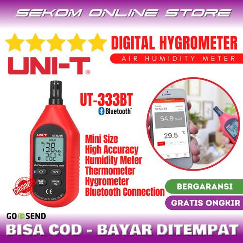 Foto Produk UNI-T Mini Digital Air Humidity Meter Thermometer Hygrometer UT333BT dari SEKOM ONLINE STORE