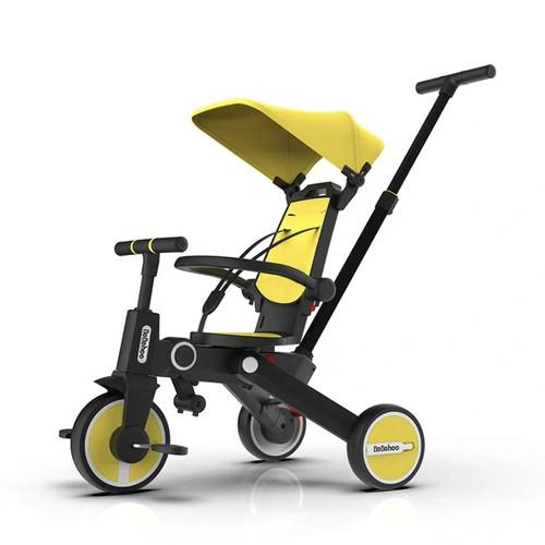 Foto Produk Bebehoo Generasi2 7ini Stroller Sepeda Bayi Lipat/Folding Trike - Kuning dari SINAR KENCANA ASIA
