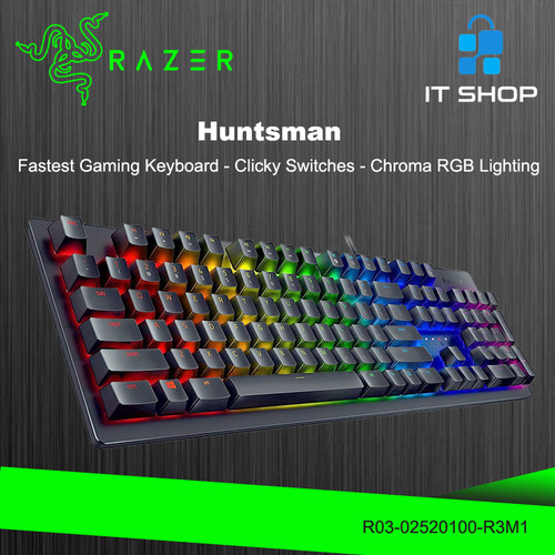 Foto Produk Razer Keyboard Huntsman - Black dari IT-SHOP-ONLINE