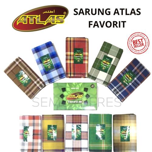Foto Produk Sarung Tenun Atlas Favorit 500 - BEST QUALITY - Warna Acak dari SemuaBeres