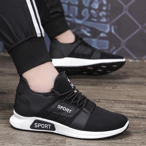Foto Produk sepatu sport hitam - 40 dari anggunfashio
