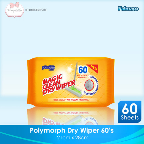 Foto Produk NEW!! Magic Dry Wipes/ Tisu kering/ Sapu Kering 60s dari MRibbon