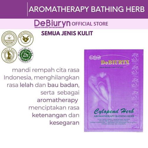 Foto Produk DeBiuryn Cylopend Herb 25gr - Mandi Aromaterapi dari Debiuryn Dermacosmetics