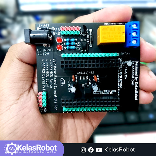 Foto Produk Shield NodeMCU Amica Kelas Robot dari Kelas Robot