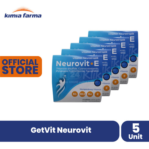 Foto Produk GetVit Neurovit dari Kimia Farma Official