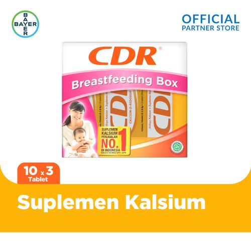 Foto Produk Breastfeeding Pack (CDR Rasa Jeruk 10 Tablet x 3 Unit) dari Bayer Health Partner