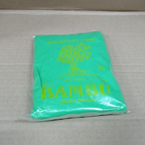 Foto Produk Jas Hujan plastik cap bambu murah meriah stelan atas-lutut dari mujahidin tissue store