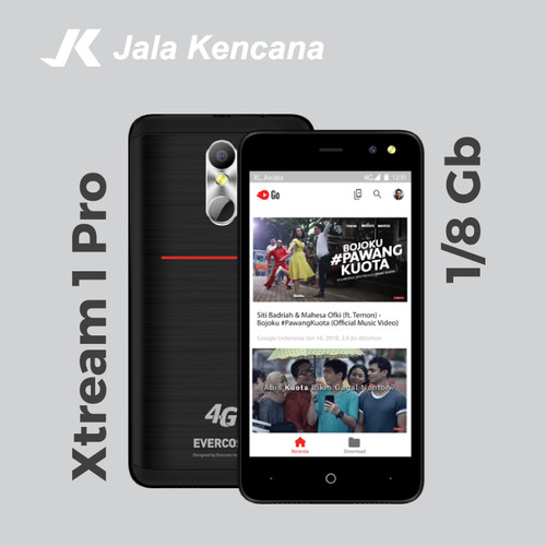 Foto Produk Evercross XL Xtream 1 Pro (M50 Star) Murah GARANSI RESMI dari Jala Kencana