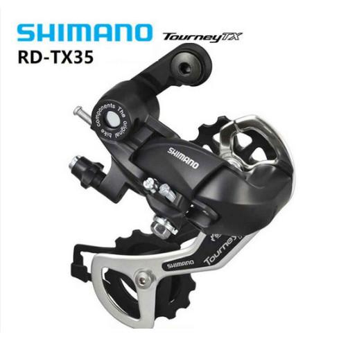 Foto Produk Shimano Tourney Rd Tx35 5/6/7/8 Speed Derailleur Belakang Untuk Sepeda dari domelton store