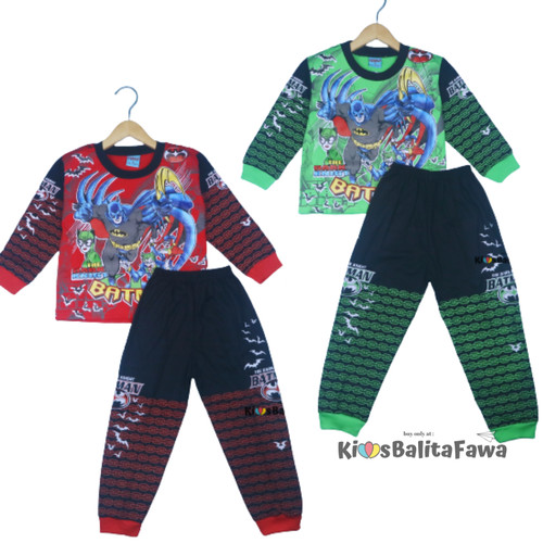 Foto Produk Setelan Jojo Size 5-6 Tahun / Piyama Kaos Anak Celana Panjang Laki - SPIDERMAN dari Kios Balita Fawa