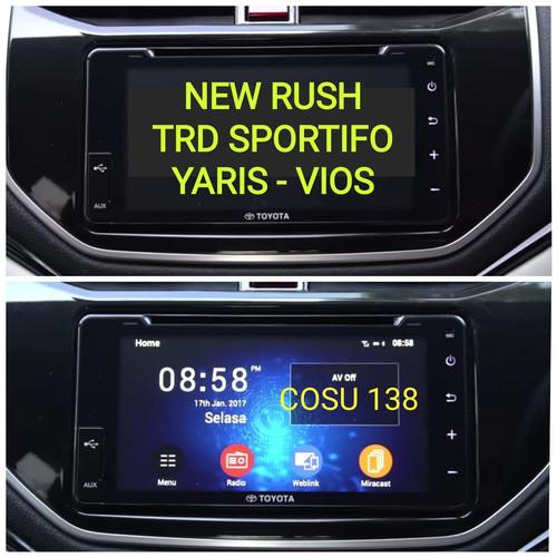 Foto Produk Anti Gores Premium Head Unit TOYOTA RUSH VIOS YARIS Best Quality dari COSU 138