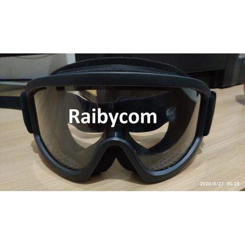 Foto Produk Kacamata Goggles Ski Sepeda Motor Airsoft Goggle Pelindung Mata Google dari Raibycom