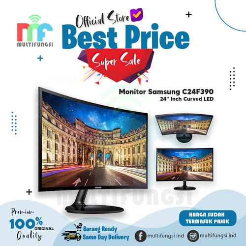 "Foto Produk Monitor Samsung 24"" Inch Curved LED C24F390 Garansi Resmi C24F390FHE dari Multifungsi Online"