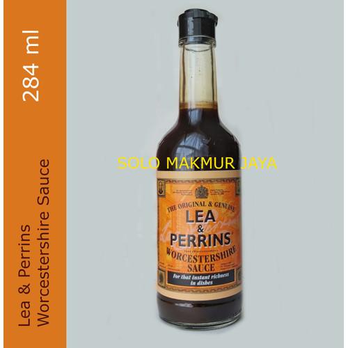 Foto Produk Lea Perrin Perrins Worcestershire Sause Kecap Inggris 284 ml - 286ml dari Solo Makmur Jaya