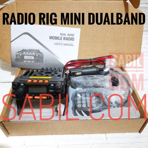 Foto Produk JUAL RADIO RIG MINI DUALBAND - MINI 8900 dari SABIL COMMUNICATION