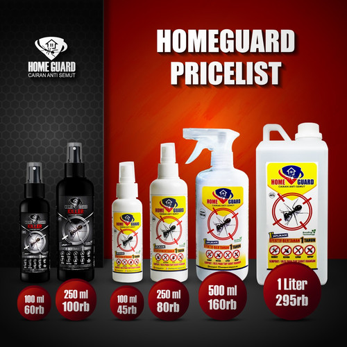Foto Produk Home Guard 100ml/ Obat anti semut/ obat anti kecoa/ semprotan anti sem - 100ml dari buttercup_id