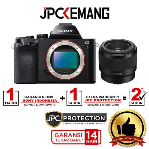 Foto Produk Special Package...!!! Sony A7 (Alpha 7) Body + FE 50mm f/1.8 dari JPCKemang