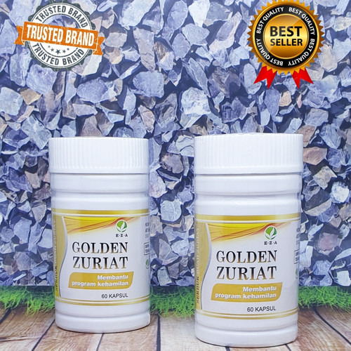 Foto Produk Menyuburkan Sperm4 pria dan Ovum wanita|KAPSUL GOLDEN ZURIAT EZA dari zhamamy herbatonik