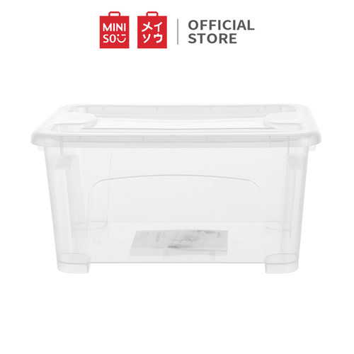 Foto Produk MINISO Kotak Penyimpanan Box Storage Container Organizer Tempat 5L dari Miniso Indonesia