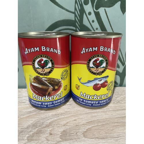 Foto Produk Ayam Brand Mackerel Saos Tomat 425 gr - tidak bubble dari Sembakokubahagia