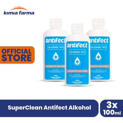 Foto Produk SuperClean Antifect Alkohol dari Kimia Farma Official
