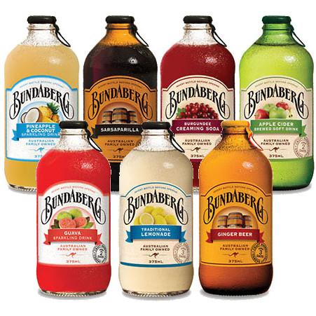Foto Produk Bundaberg australian ginger beer sarsaparilla lemonade grape bunda ber - Ginger Beer dari Laoban yang