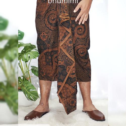 Foto Produk kain setengah jadi pria- kain Bali pria praktis dari bhumimi