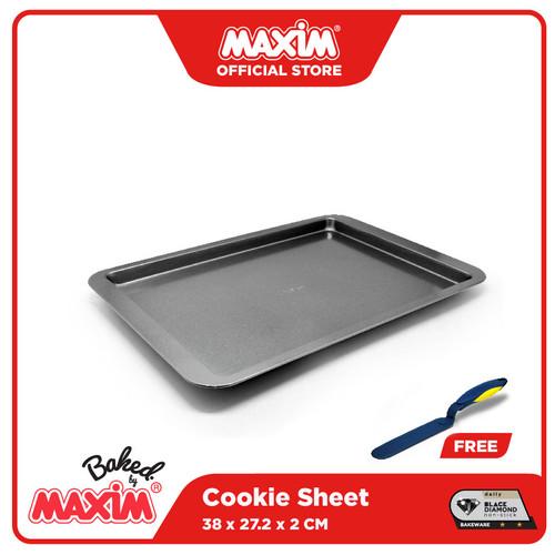 Foto Produk Maxim Bakeware Loyang Cookies/Cookies Sheet Anti Lengket 38cm dari Maxim Official Store