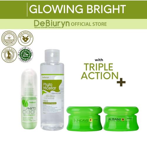 Foto Produk DeBiuryn Glowing Bright Pack dari Debiuryn Dermacosmetics