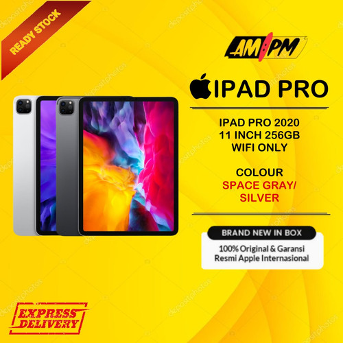 Foto Produk Apple iPad Pro 2020 11 inch 256GB - Wifi Only - silver dari AMPM 7x12