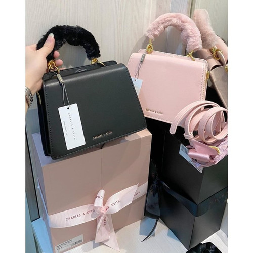 Foto Produk TAS WANITA CHARLES&KEITH GIFT SET BOX ORIGINAL CNK dari VVIP Store