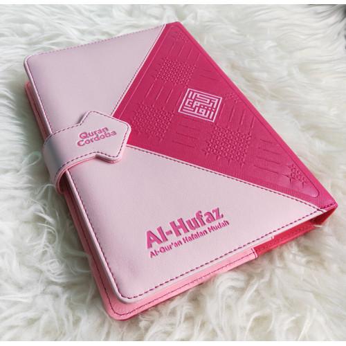 Foto Produk Al-Quran Hafalan Al-Hufaz Model Diary - Merah Muda dari Grosir Produk Muslim