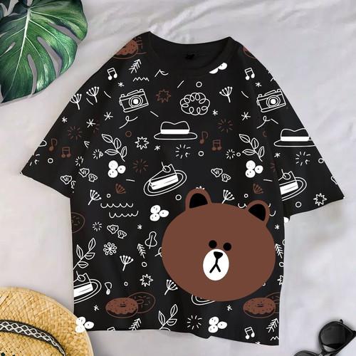 Foto Produk T-Shirt CONY XL / Baju Kaos Wanita KOREANSTYLE OVERSIZE dari omg murah