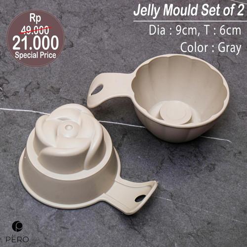 Foto Produk PERO RICE / JELLY MOULD SET OF 2 - GREY dari Pero Indonesia