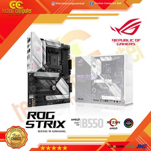 Foto Produk ASUS ROG Strix B550-A Gaming AMD AM4 ATX Gaming Motherboard dari Techno Computer Bali