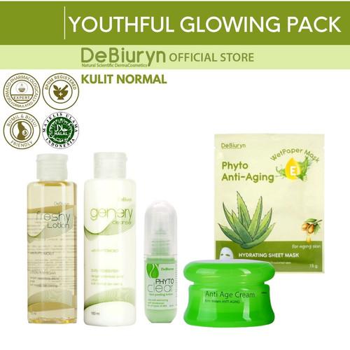 Foto Produk Youthful Glowing Pack - Anti Aging Series - Kulit Normal dari Debiuryn Dermacosmetics