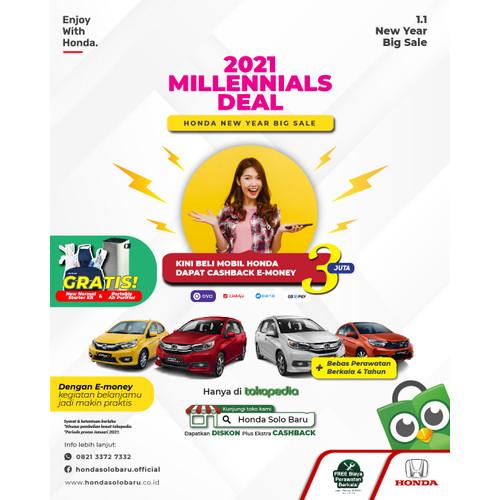 Foto Produk Promo Honda Millennials Deal dari Honda Solo Baru