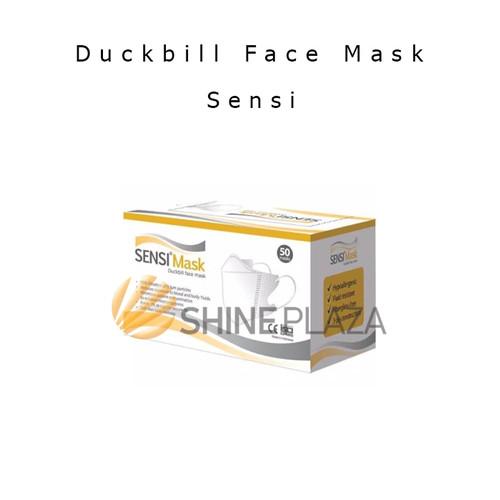 Foto Produk Masker Medis Sensi Duckbill 3 Ply Face Mask 3 Rangkap Original Isi 50 dari Shine Plaza