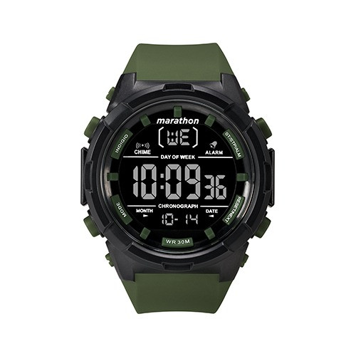 Foto Produk Timex 50MM Men's Black Case / Olive Strap - TW5M22200 dari The Watch Co.