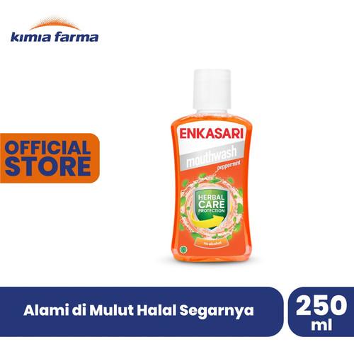 Foto Produk Enkasari Mouthwash Peppermint 250 ml dari Kimia Farma Official