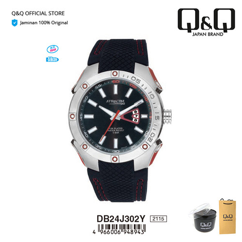 Jual Q Q Qnq Qq Original Arloji Jam Tangan Pria Analog Db24 Db24j Kota Surabaya Q Q Official Store Tokopedia