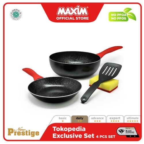 Foto Produk Maxim New Prestige Wajan Masak 4pcs Set dari Maxim Official Store