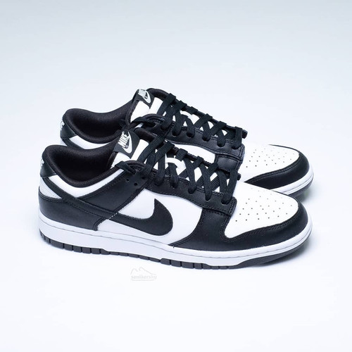 Foto Produk Nike Dunk Low Panda Black White / Black White (100% Authentic) - 43 dari senikersku_id