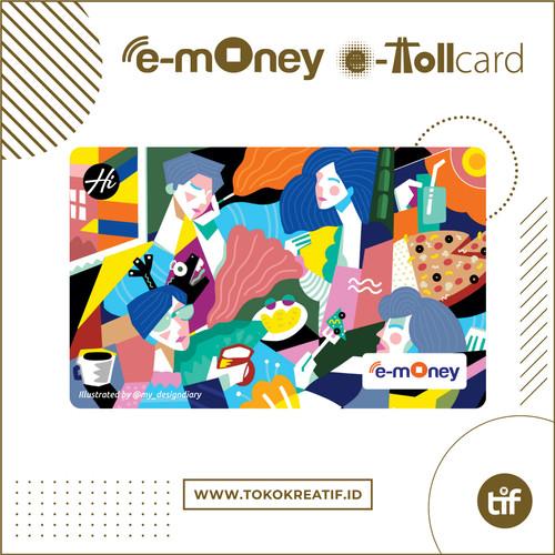 "Foto Produk eMoney eToll Mandiri ""Dinner"" dari TokoKreatif ID"