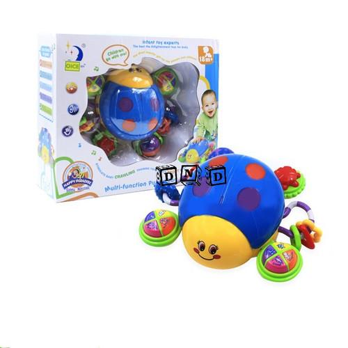 Foto Produk Mainan Anak Bayi Baby Multifunction Puzzle Lady Bug Music Story Kepik dari Toko DnD